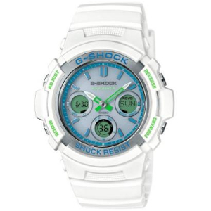 新品 即日発送可 カシオ Gショック ソーラー 電波 時計 メンズ 腕時計 AWG-M100SWG-7AJF