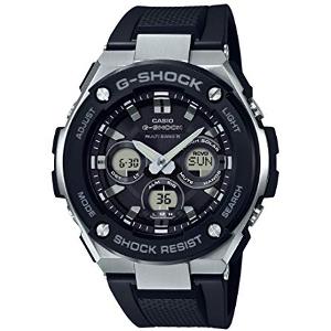 新品 即日発送可 カシオ Gショック Gスティール ソーラー 電波 時計 メンズ 腕時計 GST-W300-1AJF