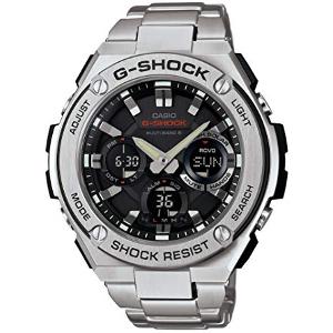 カシオ Gショック Gスチール ソーラー 電波 時計 メンズ 腕時計 GST-W110D-1AJF