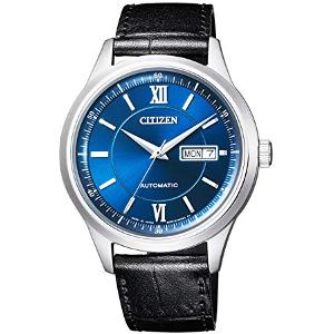 シチズンコレクション ロイヤルブルー コレクション 自動巻き 手巻き付 時計 メンズ 腕時計 NY4050-03L
