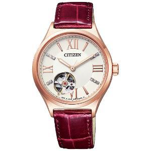 シチズンコレクション 自動巻き 手巻き 時計 レディース 腕時計 PC1002-00A