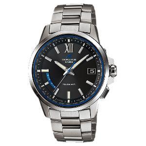 カシオ オシアナス ソーラー 電波 時計 メンズ 腕時計 OCW-T150-1AJF
