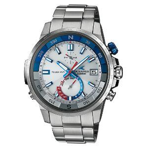 新品 即日発送可 カシオ オシアナス カシャロ ソーラー 電波 時計 メンズ 腕時計 OCW-P1000-7AJF