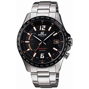 新品 即日発送 CASIO カシオ エディフィス オレンジアローシリーズ ソーラー 電波 時計 メンズ 腕時計 EQW-A100DB-1A5JF