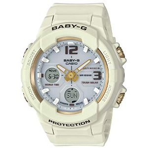 新品 即日発送 カシオ ベイビーG ソーラー 電波 時計 レディース 腕時計 BGA-2300G-7BJF