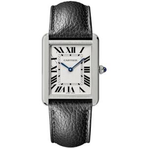 新品 即日発送 カルティエ タンクソロLM クォーツ 時計 レディース 腕時計 WSTA0028