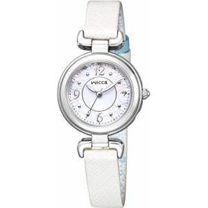 新品 即日発送可 シチズン ウィッカ HAPPY DIARY ソーラー 電波 時計 レディース 腕時計 KL0-618-11
