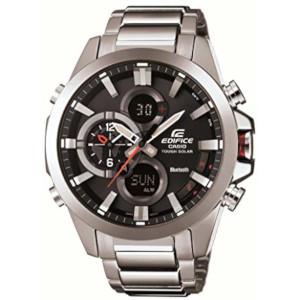 カシオ エディフィス モバイルリンク ソーラー 時計 メンズ 腕時計 ECB-500D-1AJF