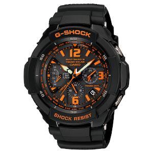 カシオ Gショック スカイコクピットソーラー 電波 時計 メンズ 腕時計 GW-3000B-1AJF