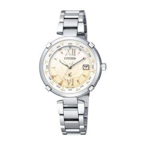 シチズン クロスシー HAPPY FLIGHT TITANIAライン ソーラー 電波 時計 レディース 腕時計 EC1060-59W
