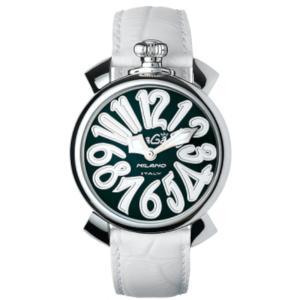【あす楽対応】 ガガミラノ マヌアーレ 40MM クォーツ 時計 ユニセックス 腕時計 5020.4