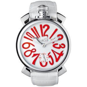 新品 即日発送可 GAGA MILANO ガガミラノ マヌアーレ 48MM 手巻き 時計 メンズ 腕時計 5010.14S