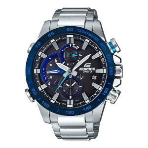 国内正規品 CASIO EDIFICE 男性用 ウオッチ カシオ エディフィス モバイルリンク RACE LAP ソーラー 時計 メンズ 腕時計 EQB-800DB-1AJF
