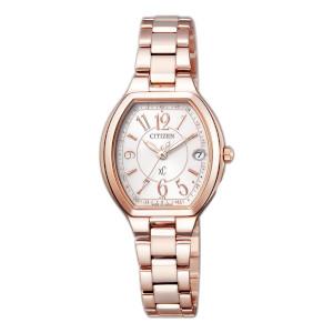 シチズン クロスシー HAPPY FLIGHT ソーラー 電波 時計 レディース 腕時計 ES9362-52W