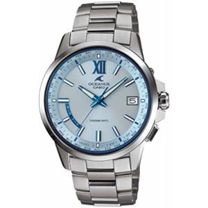 カシオ オシアナス ソーラー 電波 時計 メンズ 腕時計 OCW-T150-2AJF