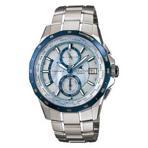 新品 即日発送可 カシオ オシアナス マンタ ソーラー 電波 時計 メンズ 腕時計 OCW-S2000P-2AJF
