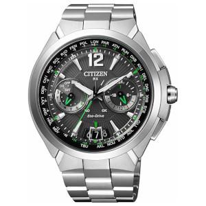 シチズン サテライト ウエーブ ダイレクトフライト ソーラー 電波 時計 メンズ 腕時計 CC1091-50F