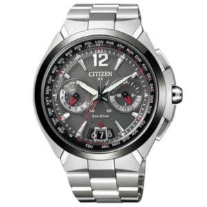 シチズン サテライト ウエーブ ダイレクトフライト ソーラー 電波 時計 メンズ 腕時計 CC1094-51E