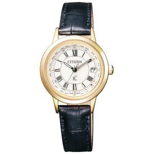 新品 即日発送 CITIZEN シチズン クロスシー ティタニア ライン ソーラー 電波 時計 レディース 腕時計 EC1142-05B
