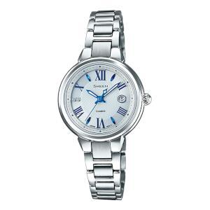 カシオ シーン ソーラー 時計 レディース 腕時計 SHE-4516SBY-7AJF