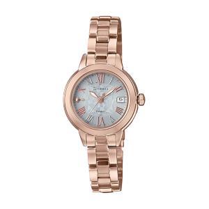 カシオ シーン ソーラー 電波 時計 レディース 腕時計 SHW-5000CG-7AJF