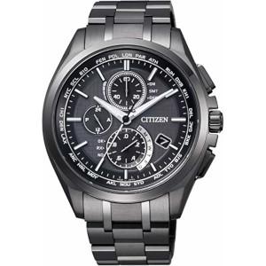 新品 即日発送可 シチズン アテッサ ダイレクトフライト ソーラー 電波 時計 メンズ 腕時計 AT8044-56E