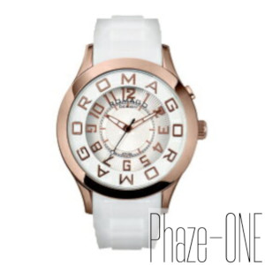 新品 即日発送 ロマゴデザイン アトラクションシリーズ メンズ レディース 腕時計 RM015-0162PL-RGWH