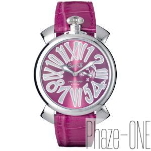 ガガミラノ スリム 46MM クォーツ 時計 メンズ 腕時計 5084.6