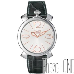 【お得な期間限定クーポン対象商品】ガガミラノ マヌアーレ シン 46MM メンズ レディース 腕時計 5090.01