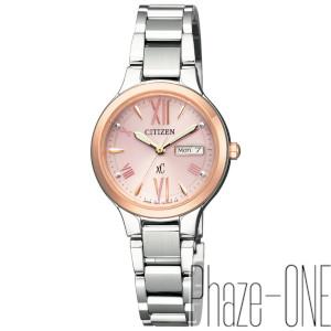 シチズン クロスシー ソーラー 時計 デイデイト レディース 腕時計 EW3224-53W