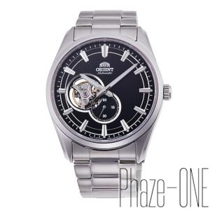 オリエント コンテンポラリー セミスケルトン 自動巻き 手巻き付き 時計 メンズ 腕時計 RN-AR0001B