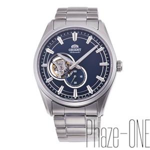 オリエント コンテンポラリー セミスケルトン 自動巻き 手巻き付き 時計 メンズ 腕時計 RN-AR0002L