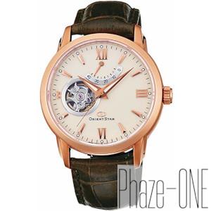 オリエント オリエントスター セミスケルトン レザーモデル 自動巻き 手巻き 時計 メンズ 腕時計 WZ0211DA