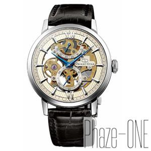 オリエント オリエントスター スケルトン アンティークシルバー 手巻き 時計 メンズ 腕時計 WZ0041DX