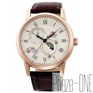オリエント クラシック SUN&MOON 自動巻き 手巻き付き 時計 メンズ 腕時計 RN-AK0001S