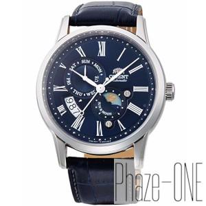 オリエント クラシック SUN&MOON 自動巻き 手巻き付き 時計 メンズ 腕時計 RN-AK0004L