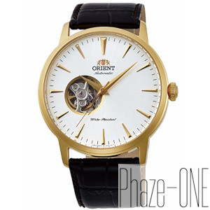 オリエント スタンダード セミスケルトン 自動巻き 手巻き付き 時計 メンズ 腕時計 RN-AG0012S