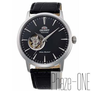 オリエント スタンダード セミスケルトン 自動巻き 手巻き付き 時計 メンズ 腕時計 RN-AG0013B