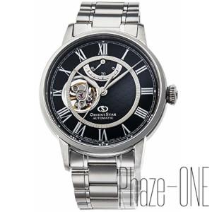 オリエント オリエントスター セミスケルトン 自動巻き 手巻き付き 時計 メンズ 腕時計 RK-HH0004B