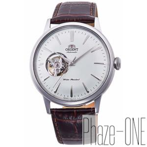 オリエント クラシック セミスケルトン 自動巻き 手巻き付き 時計 メンズ 腕時計 RN-AG0005S