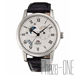 オリエント ワールド ステージ コレクション サン&ムーン 自動巻き 時計 メンズ 腕時計 WV0381ET