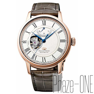 オリエント オリエントスター セミスケルトン 自動巻き 手巻き 時計 メンズ 腕時計 RK-HH0003S