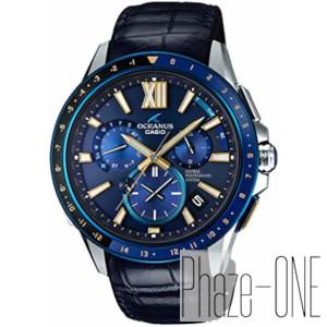 新品 即日発送可カシオ オシアナス 限定モデル GPS ハイブリッド ソーラー 電波 時計 メンズ 腕時計OCW-G1200C-2AJF