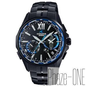カシオ オシアナス マンタ ソーラー 電波 時計 メンズ 腕時計 OCW-S3400B-1AJF