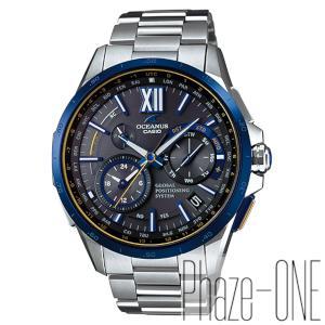 新品 即日発送 カシオ オシアナス 限定 モデル GPS ハイブリッド ソーラー 電波 時計 メンズ 腕時計 OCW-G1000E-1AJF