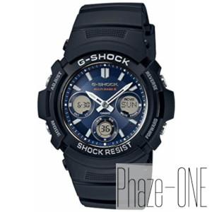 カシオ Gショック マルチバンド6 ソーラー 電波 時計 メンズ 腕時計 AWG-M100SB-2AJF
