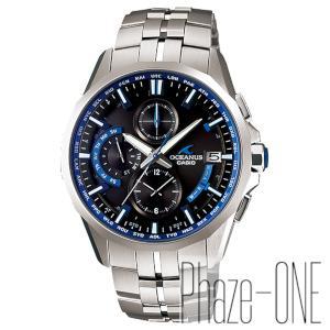 カシオ オシアナス マンタ ソーラー 電波 時計 メンズ 腕時計 OCW-S3000-1AJF