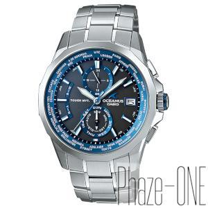 カシオ オシアナス マンタ ソーラー 電波 時計 メンズ 腕時計 OCW-S2000-1AJF