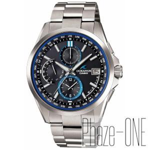 カシオ オシアナス クラッシックライン ソーラー 電波 時計 メンズ 腕時計 OCW-T2600-1AJF