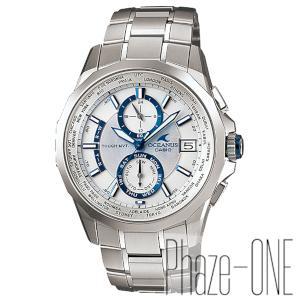 カシオ オシアナス マンタ ソーラー 電波 時計 メンズ 腕時計 OCW-S2000PW-7AJF